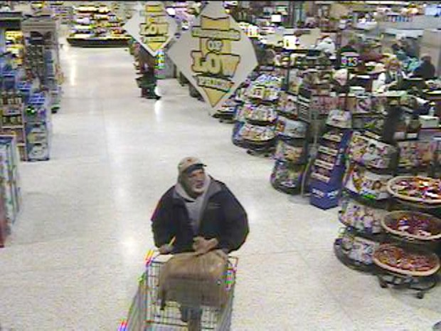 Chesterfield Police seek man for credit card fraud, forgery, theft
