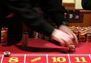 Two Pinnacle casinos were mirror images in November