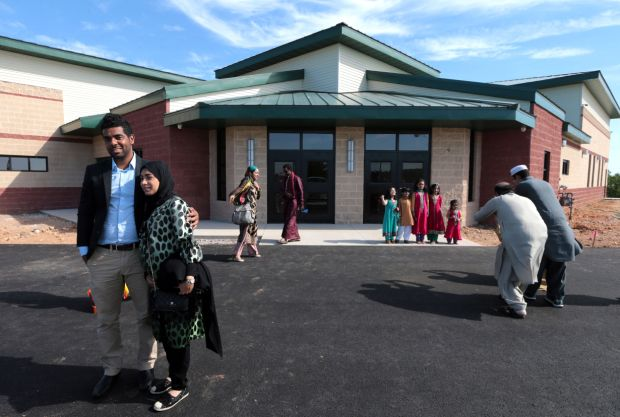 joplin muslim Two years after muslims in joplin suffered the traumatic loss of their place of worship at the hands of an arsonist, a new $2 million mosque is now open.