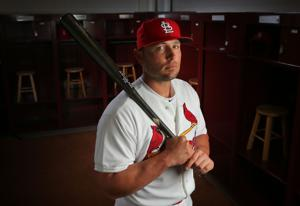 Where Holliday's overall streak ranks in Cards history