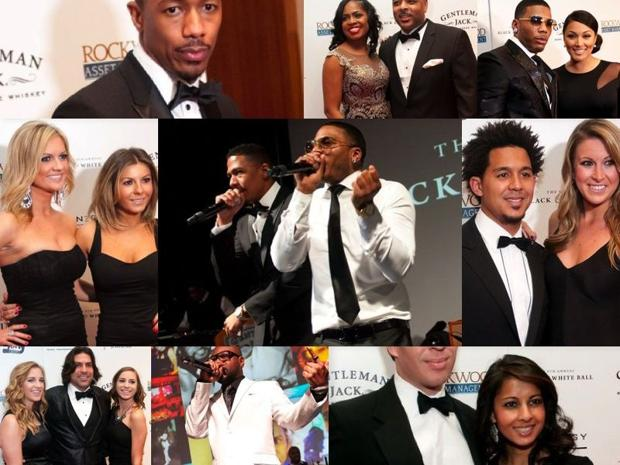 Stars shine at Nelly's Black & White Ball