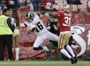 Rams, 49ers fit to be untied
