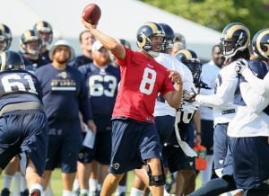 Bradford starts Camp No. 5 feeling 'really good'