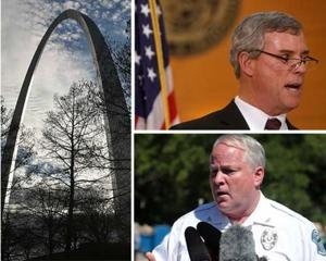 Two admit plot to blow up police station, St. Louis County prosecutor and Ferguson police chief