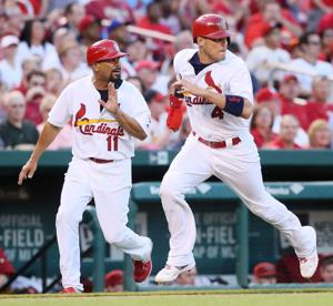 Cards lead Brewers 1-0 in fourth inning