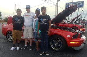 Attention quickly turned to a not-so-ordinary 2007 Ford Mustang
