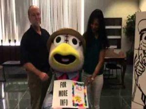 Weatherbird accepts the ALS Challenge