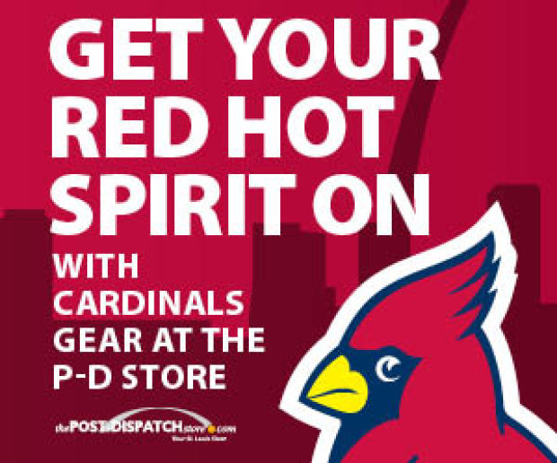 Wear your REDBIRD spirit in swanky new Cardinals gear from the P-D Store!