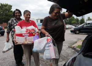 Help for the most affected Ferguson neighborhoods is pouring in