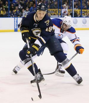 Hitchcock hopes Blues keep focus on ice