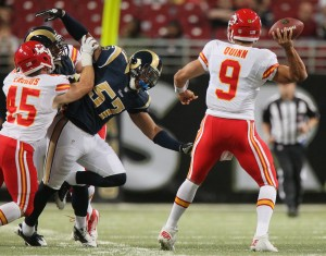 NFL notes: QB Quinn likely to start for KC