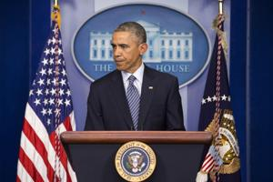President, other leaders urge calm after Ferguson grand jury decision