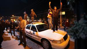 PHOTOS: Protests continue in Ferguson, downtown