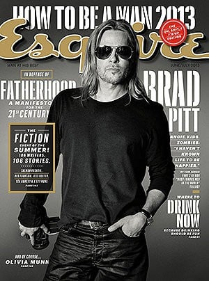 Brad Pitt interview hits Esquire next week