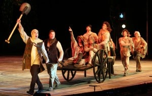 Muny opens with rousing performance of 'Spamalot'