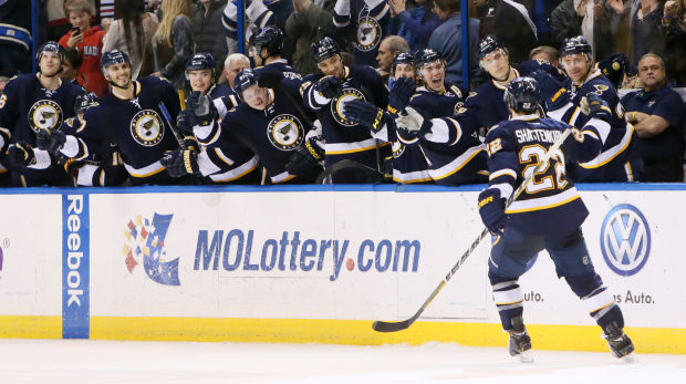 Blues Storm Back To Beat Blackhawks 6-5
