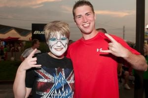 KISS Concert: Costumed fans rule!