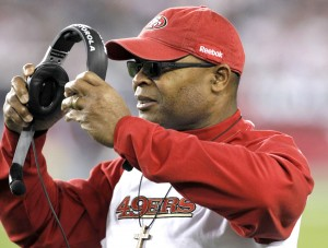Rams interview Mike Singletary