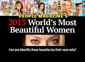 People Magazine's Most Beautiful Women of 2013