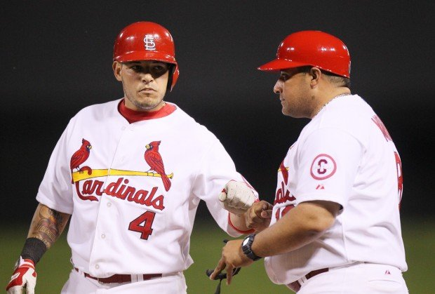 Bengie Molina First Base Coach