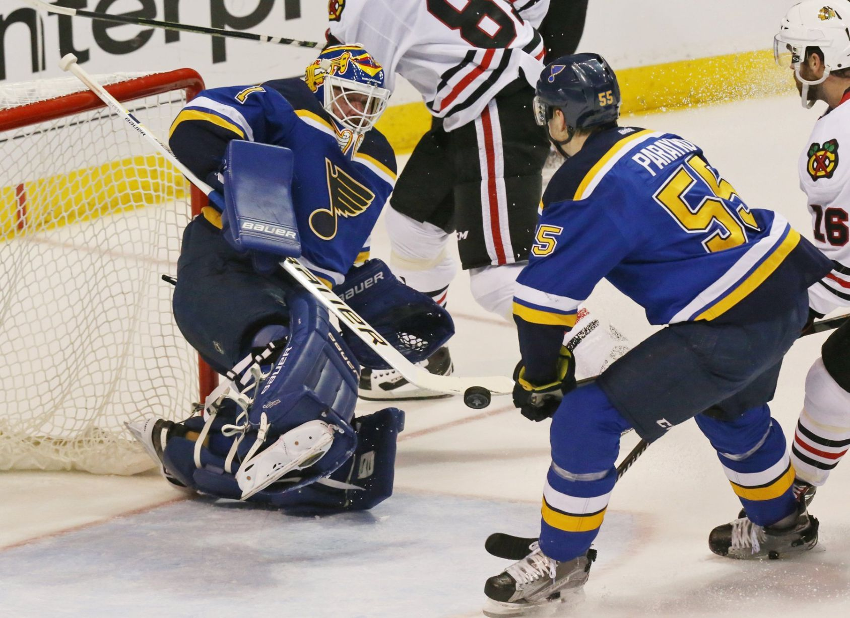 Blues' talented defense still on the rise