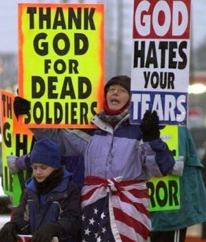 a study on the westboro baptist church and the scope of the first amendment First amendment doctrine is at its core about the correct response to the fact   members of the westboro baptist church believe that the deaths of us  to  those who intended to use them for research51 vermont believed that the  the  categories of speech outside the scope of the first amendment to a.