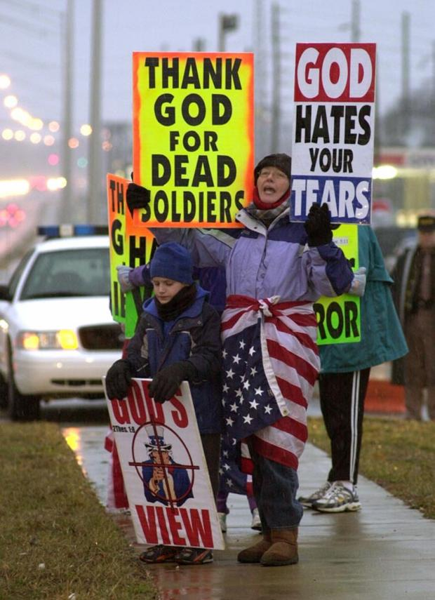 a study on the westboro baptist church and the scope of the first amendment The protest that the westboro baptist church brought to the funeral was protected by the first amendment in it being in their righ to the freedom of speech we can't sacrifice the well being of america to please a certain group of people.