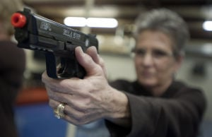 Sales at gun maker Smith & Wesson down