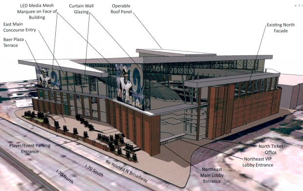 Talk Turns To New Stadium For St Louis Rams Sports