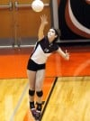 Edwardsville-Belleville West Emily Becker volleyball