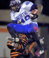 Simmons escorts Webster into playoffs via 38-24 win over Parkway North