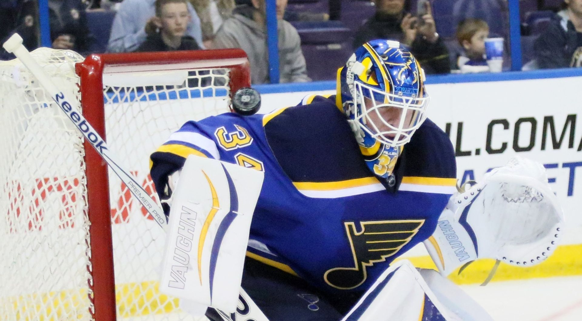Blues Will Continue Riding 'hot Hand' In Goal