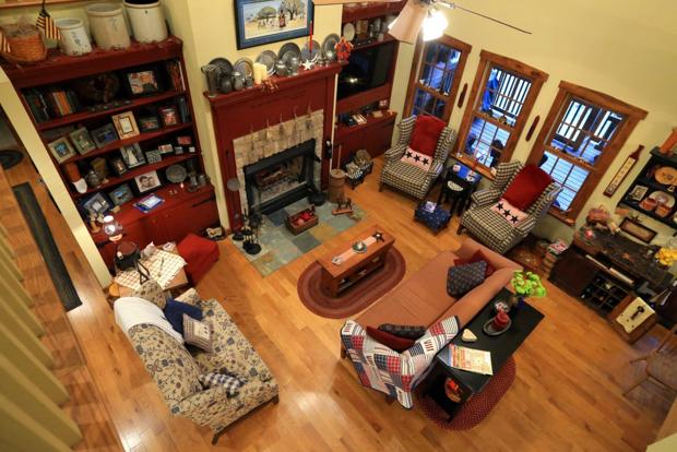 Millstadt home showcases family history in Early American style