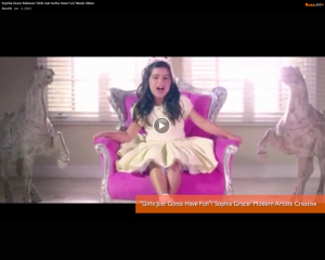 Sophia Grace Releases 'Girls Just Gotta Have Fun' Music Video
