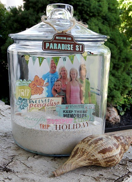 Decorated Jar Reminds You Of Summer Adventures Parenting