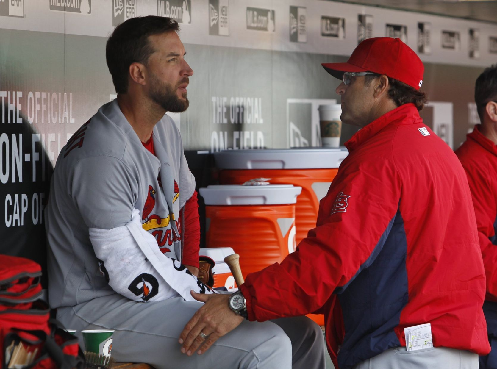 Power-mad Cardinals look to back Wainwright