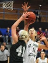 St. Joseph's has all the answers in victory over league rival Nerinx Hall