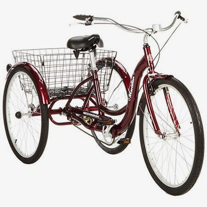 three wheeled adult bikes