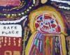 "Heidi Stuber painted ""Safe Place."""
