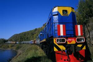 Today I'd go .... on a private train tour from Moscow to Beijing