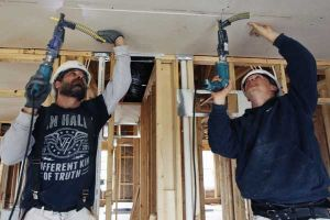 U.S. home building up in March after frigid winter