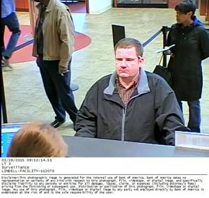 St. Louis police searching for bank robbery suspect