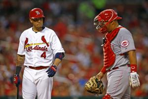 Cardinals sign Pena to back up Molina