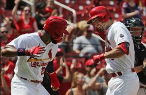 Cardinals outfielders are on a roll