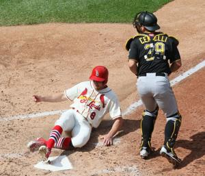 Bernie: Pirates, Cards always battle it out