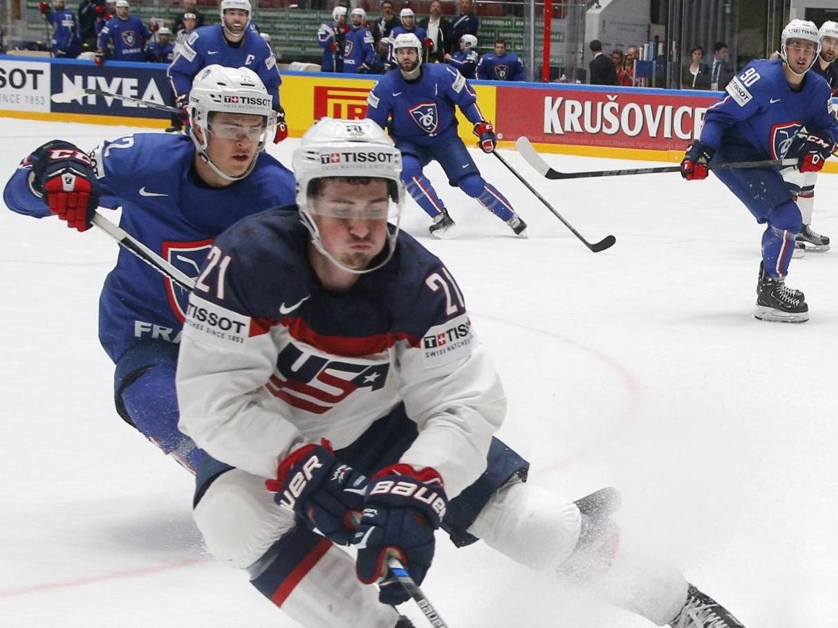 Americans up to third in group after beating France at hockey world championships | Hockey | stltoday.com