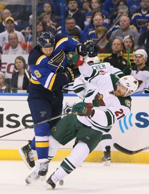 Hockey Guy: A different sort of Blues-Minny playoff series