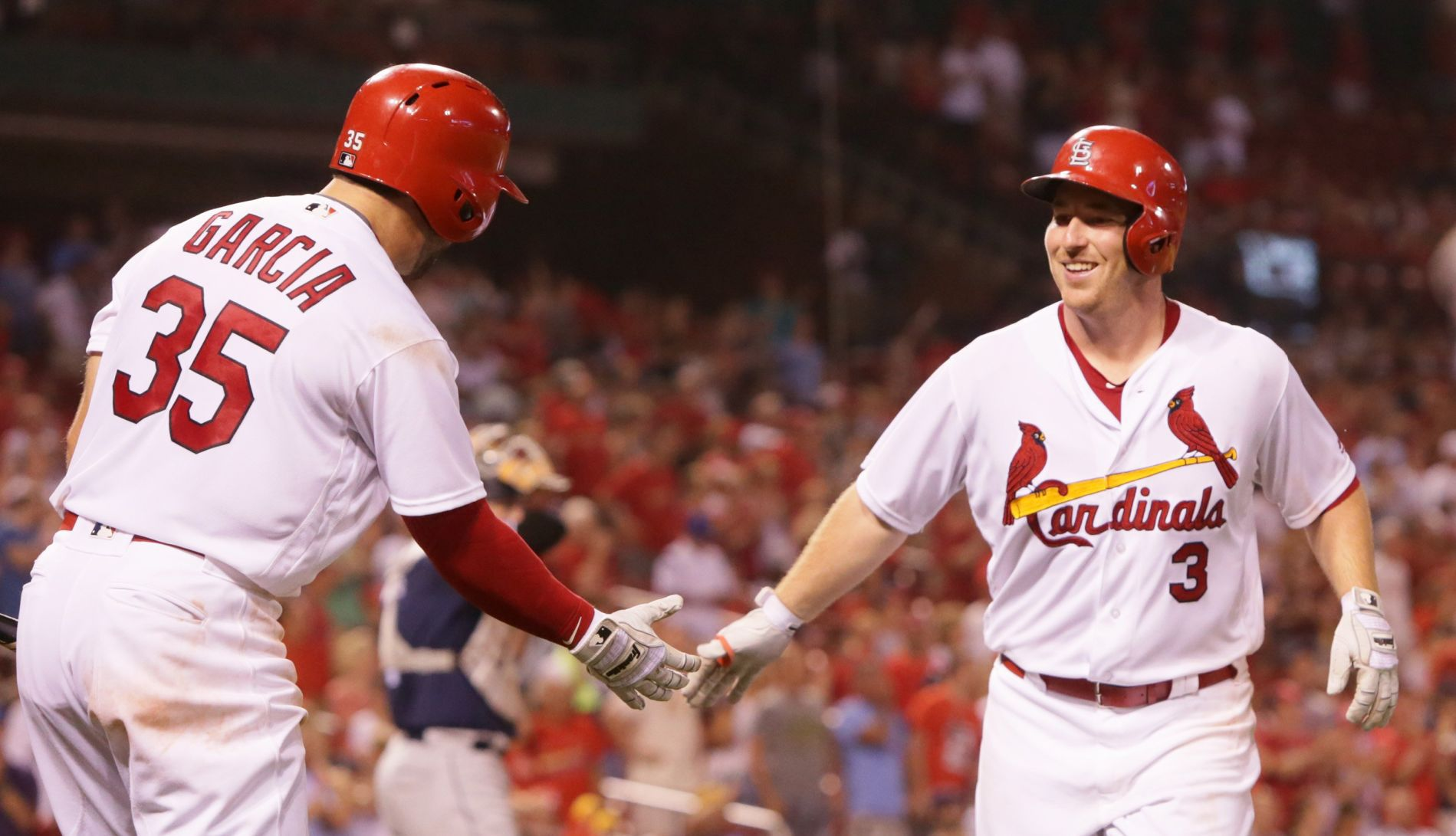 While injured Jay watches, Cards' Gyorko feasts on former team
