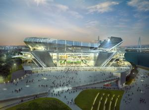 Nixon defends stadium project, says no vote needed