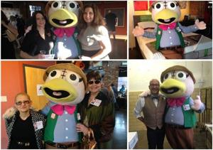 The Weatherbird at the Go! List Party 2015